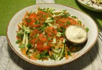 """Photo of Vegafe - Totoriu g.  by <a href=""""/members/profile/EvaRoti"""">EvaRoti</a> <br/>Huge salad with a large variety of delicious vegetables <br/> August 27, 2016  - <a href='/contact/abuse/image/39160/171717'>Report</a>"""