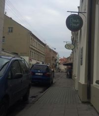 """Photo of Vegafe - Totoriu g.  by <a href=""""/members/profile/missLape"""">missLape</a> <br/>Vegcafe and RawRaw restaurants have the same entrance <br/> October 7, 2014  - <a href='/contact/abuse/image/39160/238442'>Report</a>"""