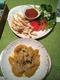 """Photo of Vegafe - Totoriu g.  by <a href=""""/members/profile/SuzyJones"""">SuzyJones</a> <br/>pumpkin gnocchi and celeriac fries <br/> August 16, 2017  - <a href='/contact/abuse/image/39160/293201'>Report</a>"""