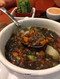 "Photo of CLOSED: Dr. J's Vibrant Cafe  by <a href=""/members/profile/NomNomNominator"">NomNomNominator</a> <br/>Spouted Lentil Soup HEAVEN!!!!!