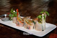 """Photo of Park 121  by <a href=""""/members/profile/Park%20121%20Marketing"""">Park 121 Marketing</a> <br/>Vegetable Rice Paper Rolls, Rice Wine-Cucumber Dip <br/> September 3, 2013  - <a href='/contact/abuse/image/39711/54323'>Report</a>"""