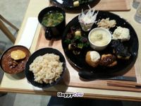 """Photo of Komaki Syokudo - Kamakura Fushikian  by <a href=""""/members/profile/MidnightSun112"""">MidnightSun112</a> <br/>The zenshurui (all types) lunch set.  Tons of food for 1500yen! <br/> December 15, 2013  - <a href='/contact/abuse/image/40326/60335'>Report</a>"""