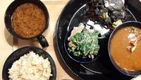 """Photo of Komaki Syokudo - Kamakura Fushikian  by <a href=""""/members/profile/rommelgc"""">rommelgc</a> <br/>genmai (unpolished/brown rice, bottom left) and miso soup  <br/> February 11, 2014  - <a href='/contact/abuse/image/40326/64160'>Report</a>"""