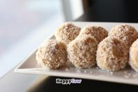 """Photo of CLOSED: Bliss Baking Company  by <a href=""""/members/profile/blissbaking"""">blissbaking</a> <br/>Lemon Coconut Almond Balls V_Raw_GF <br/> August 27, 2013  - <a href='/contact/abuse/image/40699/53916'>Report</a>"""