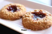 """Photo of CLOSED: Bliss Baking Company  by <a href=""""/members/profile/blissbaking"""">blissbaking</a> <br/>Strawberry Thumbprints Vegan, Gluten Free <br/> September 1, 2013  - <a href='/contact/abuse/image/40699/54156'>Report</a>"""
