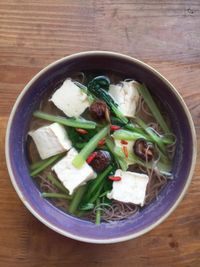 """Photo of Zenith Yoga Cafe  by <a href=""""/members/profile/Zenith%20Yoga%20Vietnam"""">Zenith Yoga Vietnam</a> <br/>Red Rice Noodle in Vegetable Broth, spring sprouts, fresh tofu, mushroom <br/> September 28, 2015  - <a href='/contact/abuse/image/41001/119450'>Report</a>"""