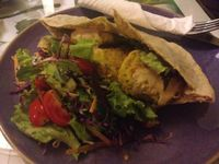 """Photo of Zenith Yoga Cafe  by <a href=""""/members/profile/Kimxula"""">Kimxula</a> <br/>falafel <br/> July 26, 2014  - <a href='/contact/abuse/image/41001/75089'>Report</a>"""