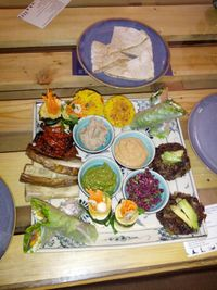 """Photo of Zenith Yoga Cafe  by <a href=""""/members/profile/Floyd205"""">Floyd205</a> <br/>Zenith's tasty taster plate <br/> November 18, 2014  - <a href='/contact/abuse/image/41001/85997'>Report</a>"""