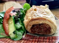 """Photo of Black Cat  by <a href=""""/members/profile/milos99"""">milos99</a> <br/>""""sausage"""" roll wrapped in phyllo dough - yum!! <br/> July 13, 2017  - <a href='/contact/abuse/image/41511/279904'>Report</a>"""