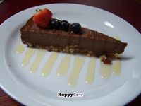 """Photo of CLOSED: LoVeg  by <a href=""""/members/profile/Amy1274"""">Amy1274</a> <br/>Raw vegan chocolate cheesecake, loVeg <br/> November 29, 2013  - <a href='/contact/abuse/image/42145/59284'>Report</a>"""