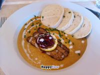 """Photo of CLOSED: LoVeg  by <a href=""""/members/profile/theastyles"""">theastyles</a> <br/>Tempeh Sirloin! One of my top 10 eats <br/> December 6, 2013  - <a href='/contact/abuse/image/42145/59959'>Report</a>"""