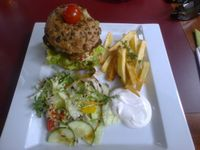 "Photo of CLOSED: LoVeg  by <a href=""/members/profile/papanda"">papanda</a> <br/>Vegan burger at loVeg <br/> April 27, 2014  - <a href='/contact/abuse/image/42145/68722'>Report</a>"