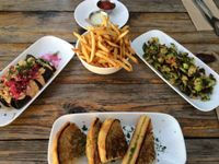 "Photo of Seabirds Kitchen  by <a href=""/members/profile/LeslieY9"">LeslieY9</a> <br/>potato taquitoes, grilled cheese, Brussels, and fries <br/> March 27, 2016  - <a href='/contact/abuse/image/42600/141520'>Report</a>"