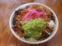 """Photo of Seabirds Kitchen  by <a href=""""/members/profile/Sonja%20and%20Dirk"""">Sonja and Dirk</a> <br/>Holy Smokes bowl with avocado <br/> June 18, 2017  - <a href='/contact/abuse/image/42600/270535'>Report</a>"""