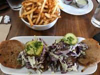 "Photo of Seabirds Kitchen  by <a href=""/members/profile/xmrfigx"">xmrfigx</a> <br/>BBQ Jackfruit Sliders and Fries <br/> October 17, 2017  - <a href='/contact/abuse/image/42600/316074'>Report</a>"