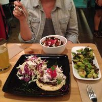 Photo of Seabirds Kitchen  by BFonville <br/>tacos, holy smokes bowl, Brussel sprouts  <br/> March 9, 2014  - <a href='/contact/abuse/image/42600/65578'>Report</a>