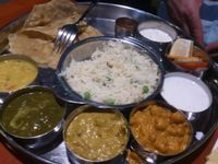"Photo of Saravanaa Bhavan  by <a href=""/members/profile/Tank242"">Tank242</a> <br/>vegetarian north indian thali <br/> September 5, 2016  - <a href='/contact/abuse/image/43065/173758'>Report</a>"