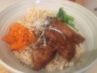 "Photo of LIMA - Shinjuku  by <a href=""/members/profile/Tiggy"">Tiggy</a> <br/>Soy meat lunch set - July 2015 <br/> July 11, 2015  - <a href='/contact/abuse/image/43583/108887'>Report</a>"