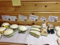 "Photo of LIMA - Shinjuku  by <a href=""/members/profile/VeganQuest"">VeganQuest</a> <br/>Sandwiches and rice balls sold at the Lima café <br/> November 4, 2015  - <a href='/contact/abuse/image/43583/123814'>Report</a>"