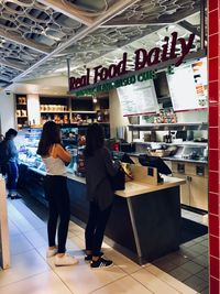 "Photo of LAX - Real Food Daily - T4  by <a href=""/members/profile/JeffLarson"">JeffLarson</a> <br/>Wednesday lunch line.  <br/> March 28, 2018  - <a href='/contact/abuse/image/43761/377472'>Report</a>"