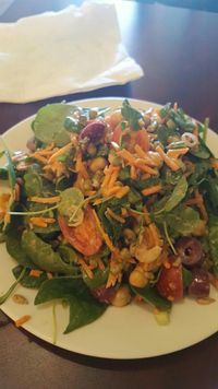 """Photo of Green Leaf  by <a href=""""/members/profile/VeganScientist"""">VeganScientist</a> <br/>vitamin packed salad <br/> March 15, 2017  - <a href='/contact/abuse/image/44678/236760'>Report</a>"""