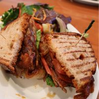 """Photo of Green Leaf  by <a href=""""/members/profile/KyleGillen-Hughes"""">KyleGillen-Hughes</a> <br/>BBQ Tempeh Sandwhich  <br/> January 25, 2018  - <a href='/contact/abuse/image/44678/350926'>Report</a>"""