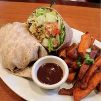 """Photo of Green Leaf  by <a href=""""/members/profile/KyleGillen-Hughes"""">KyleGillen-Hughes</a> <br/>Crispy Chickpea Wrap <br/> January 25, 2018  - <a href='/contact/abuse/image/44678/350927'>Report</a>"""