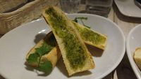 """Photo of Ain Soph.Soar  by <a href=""""/members/profile/rklevens"""">rklevens</a> <br/>vegan garlic bread <br/> December 20, 2015  - <a href='/contact/abuse/image/45520/129275'>Report</a>"""
