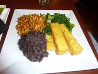 "Photo of Candle 79  by <a href=""/members/profile/MizzB"">MizzB</a> <br/>Grilled corn, sautéed greens, polenta fries, black beans  <br/> December 17, 2015  - <a href='/contact/abuse/image/4849/128871'>Report</a>"