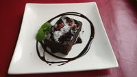 "Photo of Art Cafe ELK  by <a href=""/members/profile/JohnnieMeijer"">JohnnieMeijer</a> <br/>Vegan chocolate cake. Real good!  <br/> April 27, 2017  - <a href='/contact/abuse/image/48571/253283'>Report</a>"