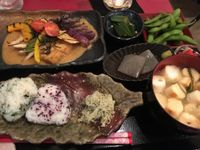 "Photo of Art Cafe ELK  by <a href=""/members/profile/LaurenJumikis"">LaurenJumikis</a> <br/>Vegan Japanese set  <br/> February 12, 2018  - <a href='/contact/abuse/image/48571/358598'>Report</a>"