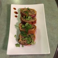 "Photo of Ambrosia Veggie House  by <a href=""/members/profile/vegetariangirl"">vegetariangirl</a> <br/>tofu roll appetizer  <br/> October 18, 2014  - <a href='/contact/abuse/image/48757/83335'>Report</a>"
