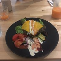 "Photo of HappyFood by YogaHub  by <a href=""/members/profile/Wani"">Wani</a> <br/>chia burger, tasted unbelievable ! <br/> September 4, 2016  - <a href='/contact/abuse/image/50332/173416'>Report</a>"
