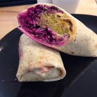 "Photo of HappyFood by YogaHub  by <a href=""/members/profile/izzytheveggie"">izzytheveggie</a> <br/>Some of the best falafel in Dublin with plenty of yummy sauerkraut for your tummy.  <br/> February 1, 2017  - <a href='/contact/abuse/image/50332/220610'>Report</a>"