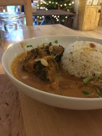 "Photo of HappyFood by YogaHub  by <a href=""/members/profile/izzytheveggie"">izzytheveggie</a> <br/>This curry was out of this world! It was full of flavour.