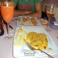 """Photo of Al Natural  by <a href=""""/members/profile/AudreyHarry"""">AudreyHarry</a> <br/>Carrot juice, Paella, Croquetas <br/> July 5, 2011  - <a href='/contact/abuse/image/5164/9542'>Report</a>"""