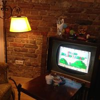 """Photo of Kruemelkueche  by <a href=""""/members/profile/StrilliVanilli"""">StrilliVanilli</a> <br/>Gaming corner with an old TV set and a Super Nintendo.  <br/> November 22, 2014  - <a href='/contact/abuse/image/52017/86240'>Report</a>"""