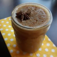 """Photo of Roni's Kitchen  by <a href=""""/members/profile/RonisKitchen"""">RonisKitchen</a> <br/>Iced almond chai <br/> July 8, 2015  - <a href='/contact/abuse/image/52840/108587'>Report</a>"""