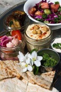 """Photo of Roni's Kitchen  by <a href=""""/members/profile/amann3"""">amann3</a> <br/>Mezze Platter <br/> July 11, 2015  - <a href='/contact/abuse/image/52840/108902'>Report</a>"""
