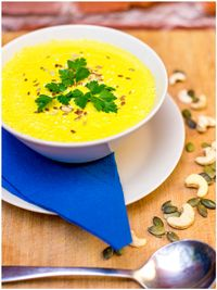 "Photo of Vegan Inspiratsioon  by <a href=""/members/profile/KohvikInspiratsioon"">KohvikInspiratsioon</a> <br/>Lentil-tumeric soup with coconut milk and ginger <br/> November 4, 2015  - <a href='/contact/abuse/image/54262/123862'>Report</a>"