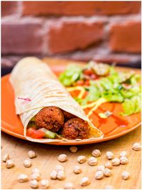 "Photo of Vegan Inspiratsioon  by <a href=""/members/profile/KohvikInspiratsioon"">KohvikInspiratsioon</a> <br/>Falafel wrap <br/> November 4, 2015  - <a href='/contact/abuse/image/54262/123863'>Report</a>"