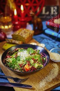 "Photo of Vegan Inspiratsioon  by <a href=""/members/profile/KohvikInspiratsioon"">KohvikInspiratsioon</a> <br/>Warm buckwheat salad <br/> January 28, 2017  - <a href='/contact/abuse/image/54262/218143'>Report</a>"