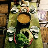 """Photo of CLOSED: Tinh Tam Quan - Buddha Belly  by <a href=""""/members/profile/HarmenKeuning"""">HarmenKeuning</a> <br/>hot pot for 200.000 vd for 4 people  <br/> March 13, 2015  - <a href='/contact/abuse/image/56424/95618'>Report</a>"""
