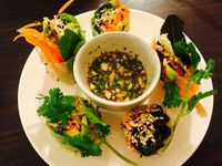 "Photo of CLOSED: Veggie Bean  by <a href=""/members/profile/Tastyvege"">Tastyvege</a> <br/>Fresh spring roll <br/> July 1, 2016  - <a href='/contact/abuse/image/61979/157176'>Report</a>"