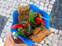 """Photo of Cruioso  by <a href=""""/members/profile/Cruioso"""">Cruioso</a> <br/>Zucchini Roses & Gluten-Free Crackers <br/> August 31, 2015  - <a href='/contact/abuse/image/62744/115875'>Report</a>"""