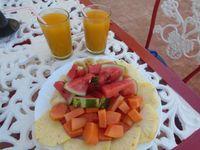 """Photo of Casa El Delfin   by <a href=""""/members/profile/casaeldelfincuba"""">casaeldelfincuba</a> <br/>Fresh breakfasts at Casa El Delfin daily <br/> October 30, 2015  - <a href='/contact/abuse/image/63542/123234'>Report</a>"""