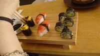 """Photo of El Buda Profano  by <a href=""""/members/profile/asp"""">asp</a> <br/>9 pieces of sushi for S/.9   <br/> December 24, 2015  - <a href='/contact/abuse/image/64990/129718'>Report</a>"""