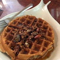 "Photo of Go Vegan Cafe  by <a href=""/members/profile/Sarah_veg"">Sarah_veg</a> <br/>waffles with spicy roasted nuts and seeds <br/> March 14, 2016  - <a href='/contact/abuse/image/65093/139979'>Report</a>"