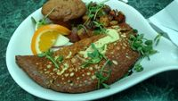 "Photo of Go Vegan Cafe  by <a href=""/members/profile/emmawin"">emmawin</a> <br/>classic omelette <br/> February 4, 2017  - <a href='/contact/abuse/image/65093/222500'>Report</a>"