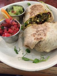 "Photo of Go Vegan Cafe  by <a href=""/members/profile/R-MV"">R-MV</a> <br/>Breakfast burrito (Spanish tofu filling, sausage and roasted jalapeños)which is delish <br/> November 20, 2017  - <a href='/contact/abuse/image/65093/327664'>Report</a>"